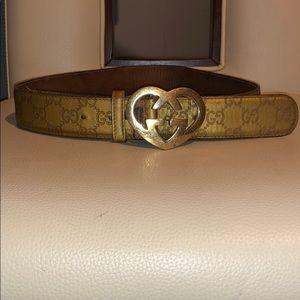 374f10f7e Women Gucci Heart Belt on Poshmark